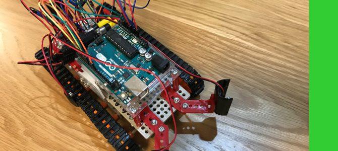 Arduinoで光に反応するロボットを作成
